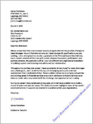 How to format a business letter block format business letter thecheapjerseys Image collections